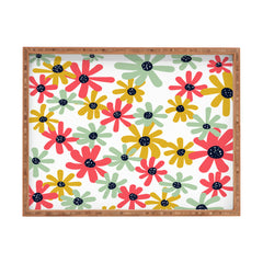 Sam Osborne Desert Flower Constellations Rectangular Tray
