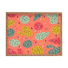 Sam Osborne Sunset Cactus Party Rectangular Tray