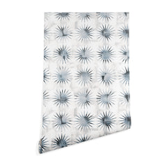 Schatzi Brown Aviana Starburst White Wallpaper