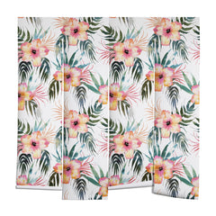 Schatzi Brown Honolua Tropical White Wall Mural