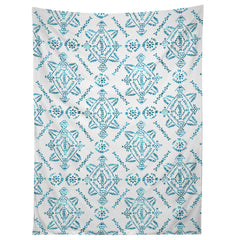 Schatzi Brown Reeve Pattern Aqua Tapestry