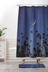 Shannon Clark Crescent Moon Shower Curtain And Mat