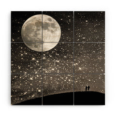 Shannon Clark Love Under The Stars Wood Wall Mural