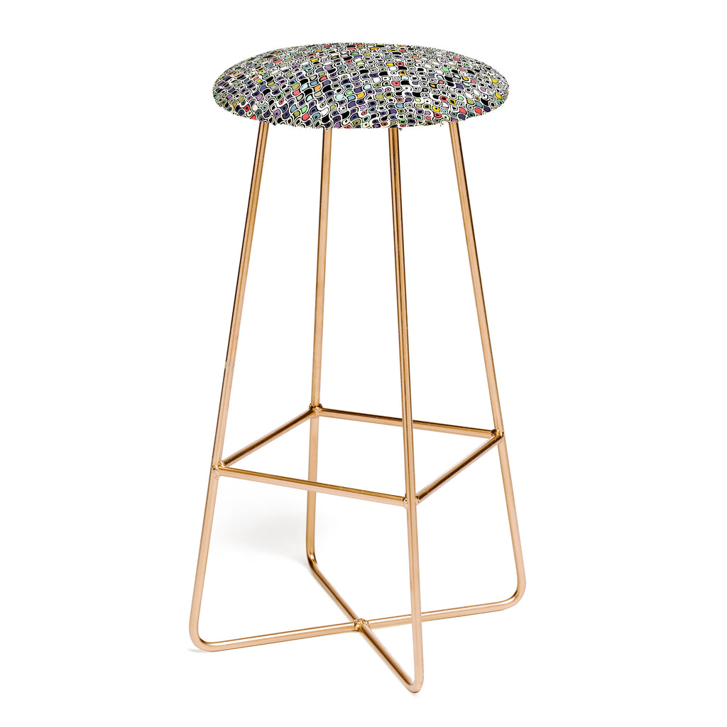 Sharon Turner Cellular Ombre Bar Stool DENY Designs Home  : sharon turner cellular ombre bar stool white background SQUARE aston gold1024x1024 from www.denydesigns.com size 1024 x 1024 jpeg 70kB