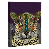 Sharon Turner Leopard Queen Art Canvas