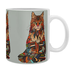 Sharon Turner maine coon cat mercury Coffee Mug