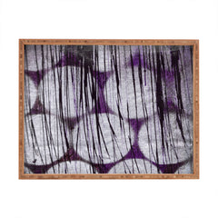 Sophia Buddenhagen Purple Spotlight Rectangular Tray