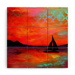 Sophia Buddenhagen Sail Away With Me Wood Wall Mural