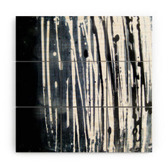 Sophia Buddenhagen White Lines Wood Wall Mural