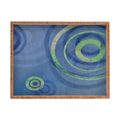 Stacey Schultz Circle Maps Royal Blue 1 Rectangular Tray