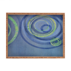 Stacey Schultz Circle Maps Royal Blue 2 Rectangular Tray