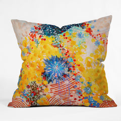 Stephanie Corfee 3 Ring Circus Outdoor Throw Pillow