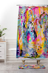 Stephanie Corfee Carnivale Shower Curtain And Mat