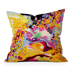 Stephanie Corfee Sing Throw Pillow