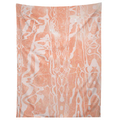 SunshineCanteen electric avenue peach Tapestry
