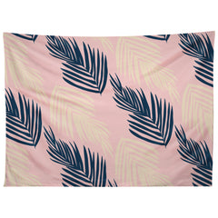SunshineCanteen Pink Palms Tapestry