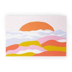 SunshineCanteen sunshine above the clouds Welcome Mat