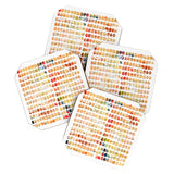 Susanne Kasielke Funny Blocks Coaster Set