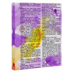 Susanne Kasielke Smile Dictionary Art Art Canvas
