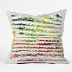 Susanne Kasielke Splashy Groove Outdoor Throw Pillow