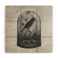 Terry Fan The Curiosity Wood Wall Mural