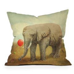 Terry Fan Truce Throw Pillow