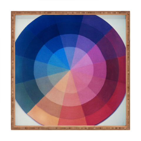At Color Wheel Art Products Deny Designs