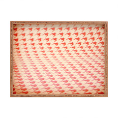The Light Fantastic Houndstooth Polaroid Rectangular Tray