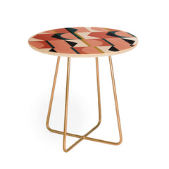 The Old Art Studio Maximalist Geometric 01 Round Side Table