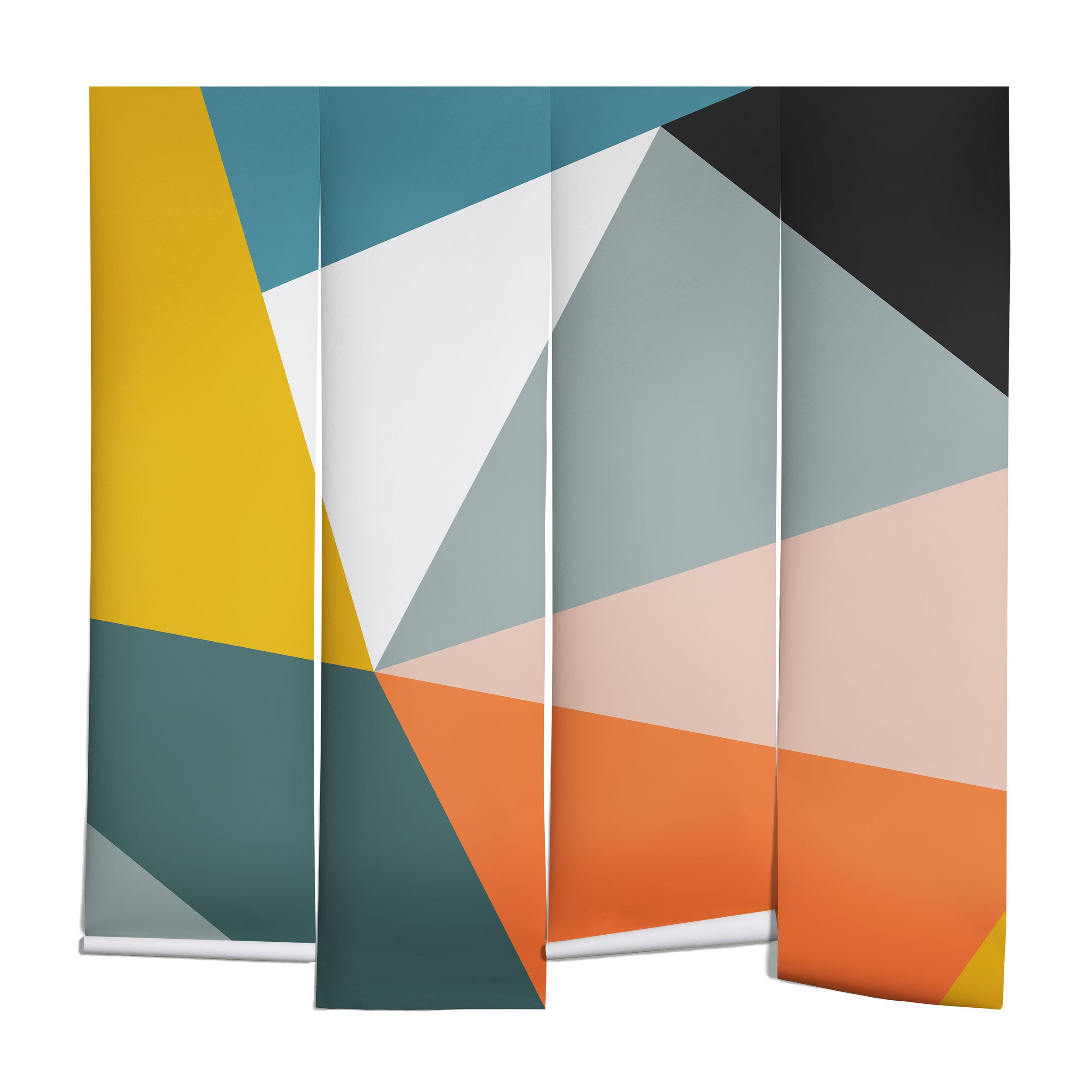 The Old Art Studio Modern Geometric 33 Wall Mural