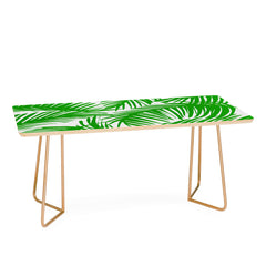 The Old Art Studio Tropical Pattern 02E Coffee Table