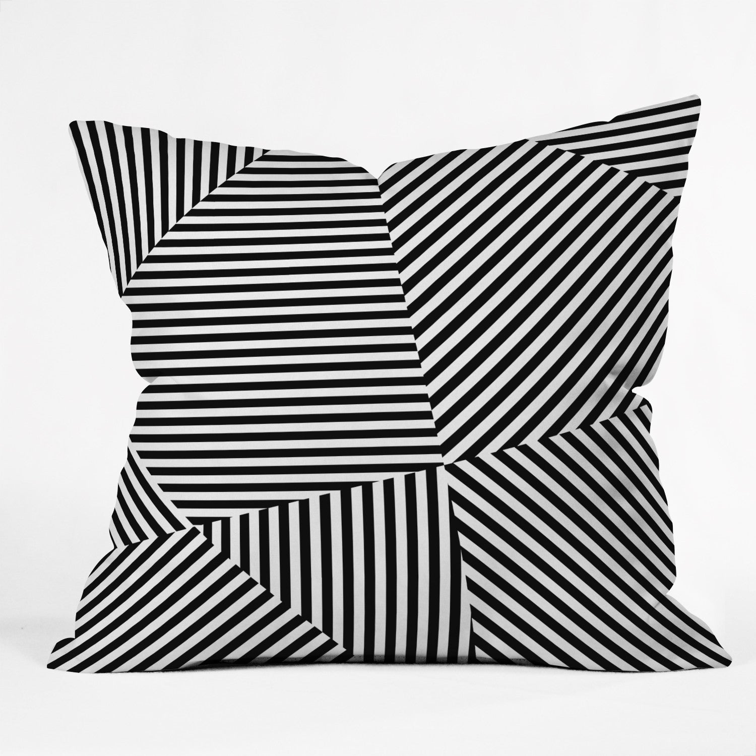 Three Of The Possessed Dazzle New York Outdoor Throw Pillow