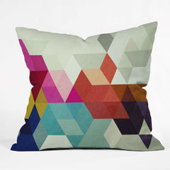 Three Of The Possessed Modele 7 Throw Pillow