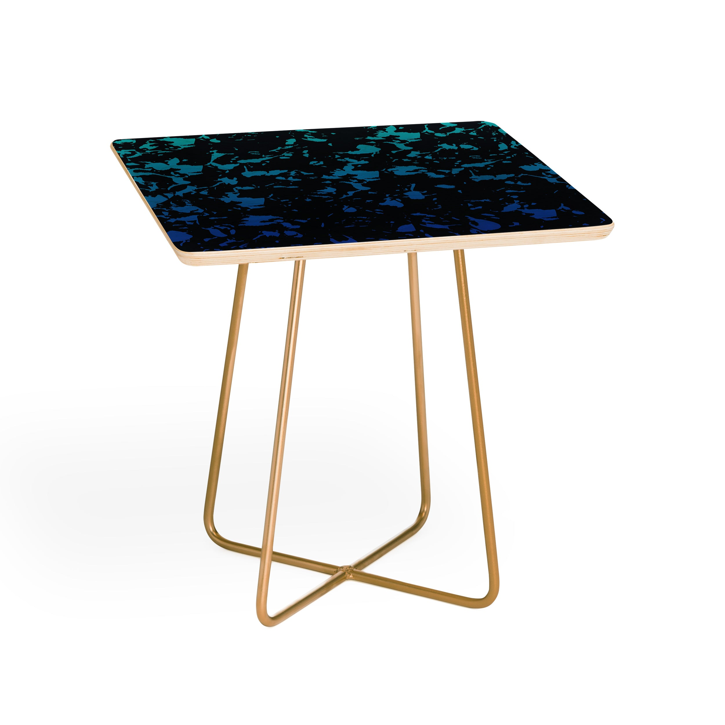Triangle Footprint 1florec3 Side Table