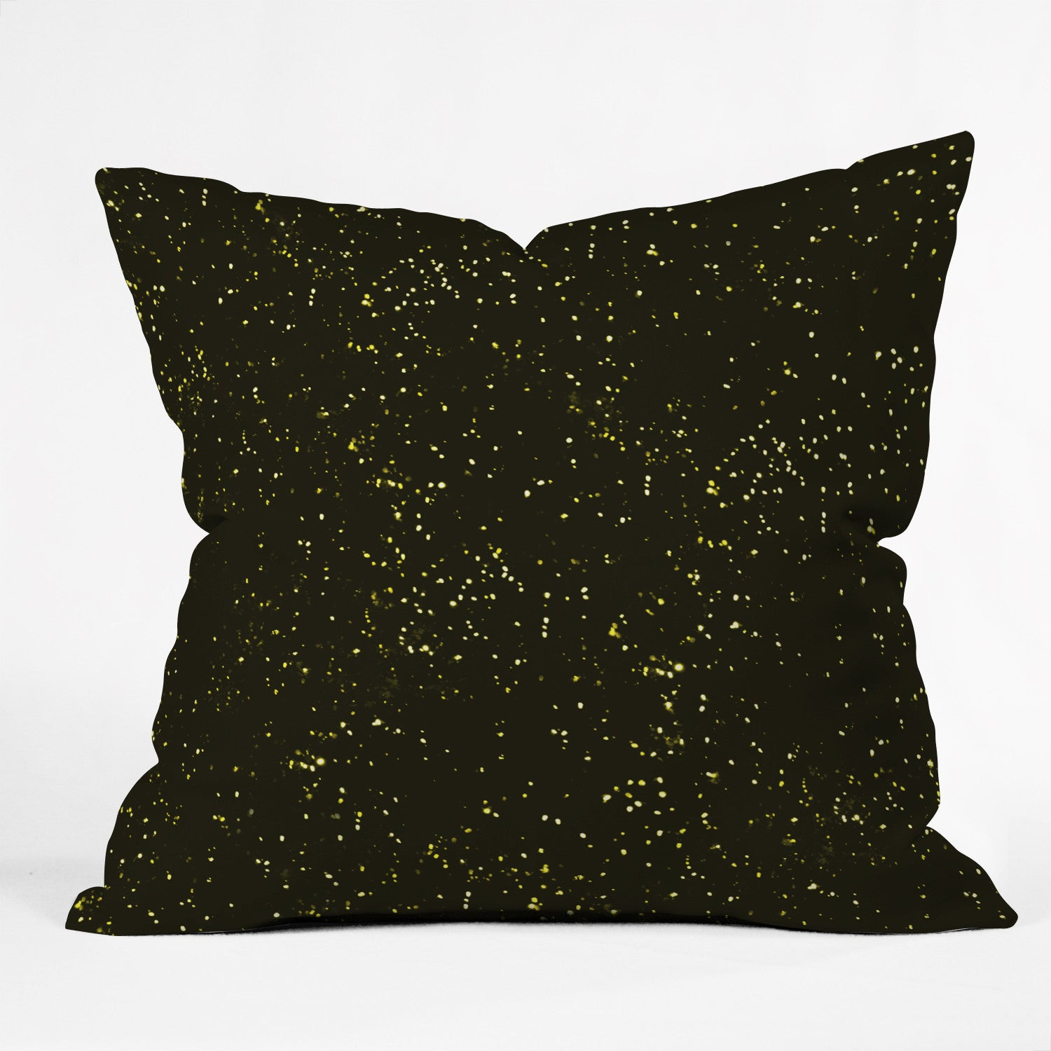 Triangle Footprint Cosmos1 Outdoor Throw Pillow