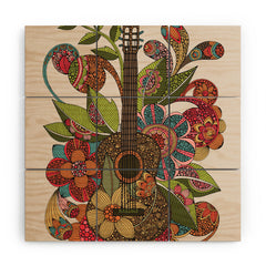 Valentina Ramos Ever Guitar Wood Wall Mural