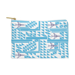 Vy La Airplanes And Triangles Pouch
