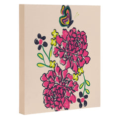 Vy La Budding Love Art Canvas