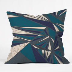 Vy La Tech It Out Midnight Outdoor Throw Pillow