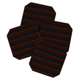 Wagner Campelo Organic Stripes 3 Coaster Set