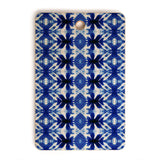 Wagner Campelo SHIBORI TRIBAL INDIGO Cutting Board Rectangle