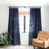Wagner Campelo SIDEREAL NAVY Blackout Window Curtain