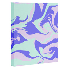 Wesley Bird Hypnotic Camo Art Canvas