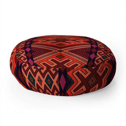 Red Floor Pillows | Deny Designs