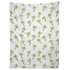 Wonder Forest Pretty Palm Trees Tapestry