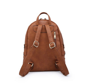 Tripe Zip Pocket Backpack