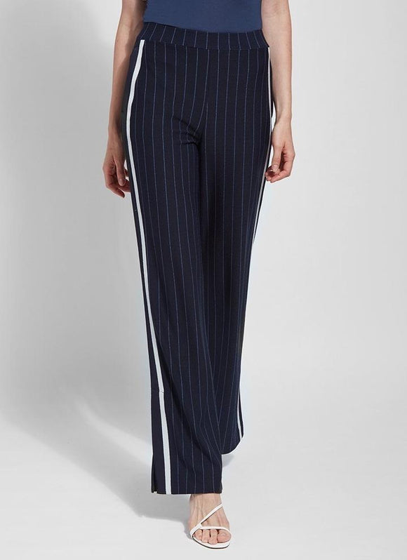 Lysse Navy Anchor Stripe Pant