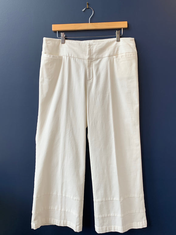 209 wst 38 Cropped Ivory Pant