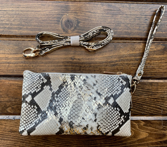 Snake Liz Custom Collection Crossbody Bag