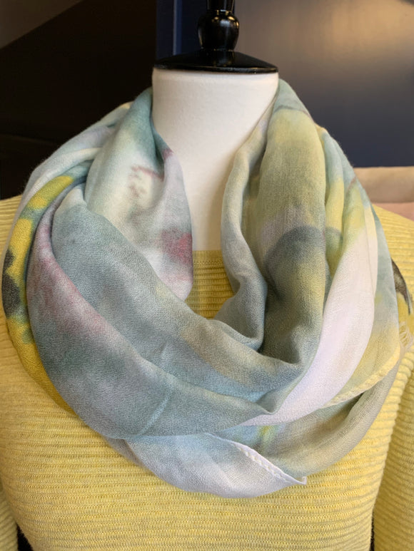 Blue/ Green Joy Susan Scarf